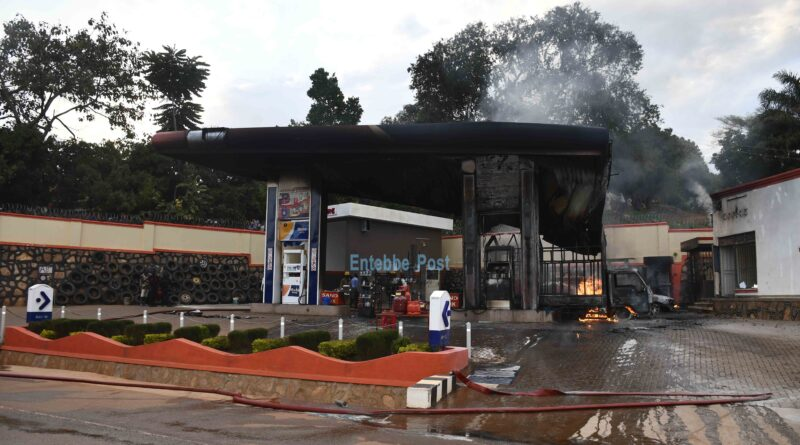 Kitala petrol station fire: 2 cars and property perish in blaze