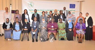 Women involvement in conflict resolution vital says IGAD